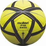 Molten F4G3300 Hallenfußball Fußball Indoor gelb-schwarz-silber | 4