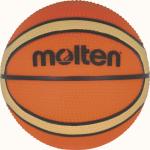 Molten B100VG Basketball Mini Basketbällchen orange-creme | Ø 100 mm
