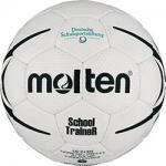 Molten HXST1 Handball SchoolTraineR weiß-schwarz | 1
