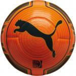 Puma evoPower 2 Match Winter Spielball Fußball orange-schwarz   5
