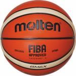 Molten BGM6X Basketball Trainingsball orange-ivory | 6