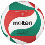 Molten V5M4500 Volleyball Spielball weiß-grün-rot | 5