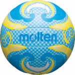 Molten V5B1502-C Beachvolleyball Freizeit-Trainingsball blau-gelb | 5
