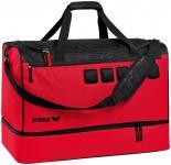 Erima Sporttasche mit Bodenfach ROT/SCHWARZ   L