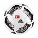 adidas Fußball Torfabrik DFL Official Match Ball Spielball weiß-schwarz   5