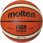 Molten BGL7X  Basketball Spielball orange-ivory | 7