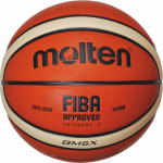 Molten BGM5X Basketball Trainingsball orange-ivory | 5