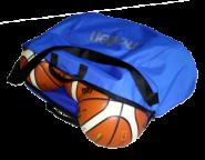 Molten EB0046-B Balltasche für 6 Basketbälle blau | 780 x 510 x 270 mm