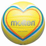 Molten V5B1501-Y Beachvolleyball Freizeit-Trainingsball gelb-blau-orange | 5