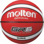 Molten BGR6-RW Basketball Trainingsball rot-weiß | 6
