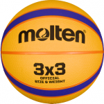 Molten B33T2000 Basketball Outdoor Spielball gelb-blau-orange | 6