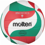 Molten V1M300 Volleyball Mini Volleybällchen weiß-grün-rot | 135g, Ø150 mm