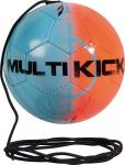 Derbystar Multikick  Fußball Spezialball blau-orange | 5