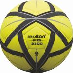 Molten F5G3300 Hallenfußball Fußball Indoor gelb-schwarz-silber | 5
