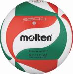 Molten V5M5500 Volleyball Spielball weiß-grün-rot | 5