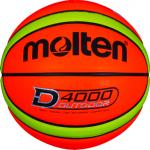 Molten B6D4000 Basketball Outdoor Trainingsball neonorange-neongelb | 6