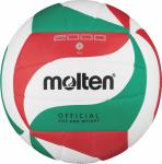 Molten V5M2000 Volleyball Trainingsball weiß-grün-rot   5