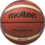 Molten BGM7X-E7T Basketball Trainingsball orange-ivory | 7