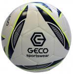 GECO Sportswear Gallego Fußball Spielball Trainingsball weiß-schwarz-neongelb | 5