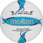 Molten BV2500-FBO Beachvolleyball Beach Trainingsball weiß-blau-silber | 5