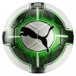 Puma EvoPower Vigor 3.3 Tournament Fussball Spielball Gr. 5 Puma White-Green Gecko-Puma Black | 5