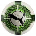 Puma evoPOWER 4.3 Club Fussball Trainingsball IMS Approved Puma White-Green Gecko-Puma Black | 5
