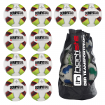 10x Derbystar X-treme Pro S-Light 10er Ballpaket + Ballsack