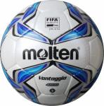 Molten F5V4800 Fußball Spielball weiß-blau-silber   5