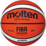 Molten BGR6-OI Basketball Trainingsball orange-ivory | 6