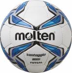 Molten F9V1900 Futsalball Fußball Futsal weiß-blau-silber | 4