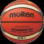 Molten BGS1-E7T Basketball Mini Basketbällchen orange-ivory | 175g, Ø 137 mm