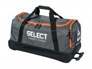 Select Verona Teamtasche mit Rollen grau-schwarz-orange | 75 x 40 x 35 cm