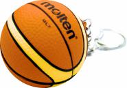Molten KHB Basketball Schlüsselanhänger orange-ivory | Sonstige