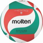 Molten V5M4000 Volleyball Spielball weiß-grün-rot | 5