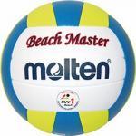 Molten MBVBM Beachvolleyball Beach Spielball weiß-blau-gelb | 5