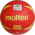 Molten H3X-SM Handball SchoolMasteR rot-gelb   3
