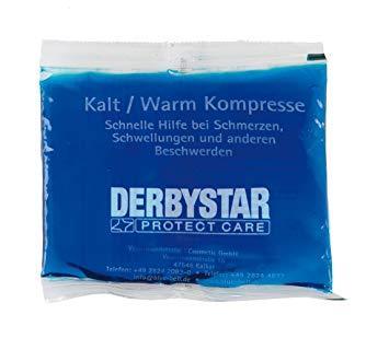 Derbystar Kalt-/Warm Kompresse Klein 13 x 14 cm blau | 13 x 14 cm