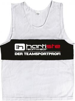 Derbystar 10er Set Trainingsleibchen Markierungshemden Hartiste weiß-schwarz | Junior