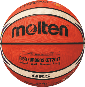 Molten BGR5-E7T Basketball Trainingsball orange-ivory | 5
