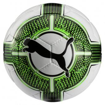 Puma evoPower Lite 3 290g Fußball Trainingsball Puma White-Green Gecko-Puma Black | 3