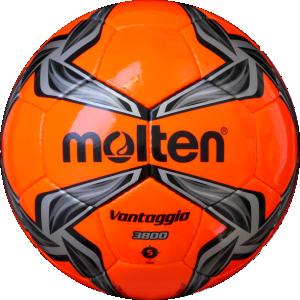Molten F5V3800-OK Fußball Trainingsball neonorange-schwarz-silber | 5