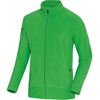 JAKO Fleecejacke Team soft green-schwarz | 34