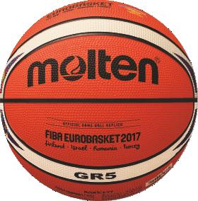Molten BGR5-E7T Basketball Trainingsball orange-ivory | 5