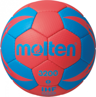 Molten H0X3200-RB Handball Trainingsball rot-blau   0