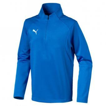 PUMA LIGA Training 1/4 Zip Top Jr Kinder Pullover Zip Sweater