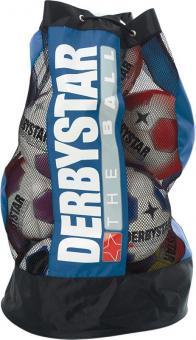 Derbystar Ballsack 10 Bälle mit Ballpumpenfach