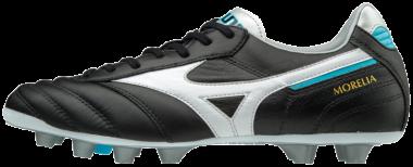 Mizuno Morelia II MD Fußballschuhe Black-White-Blue Atoll   41