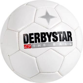 Derbystar Miniball Fußball Freizeitball weiß | 47 cm