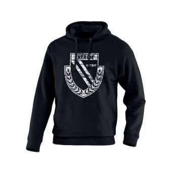 JAKO FC Energie Cottbus Kapuzensweat Vintage schwarz
