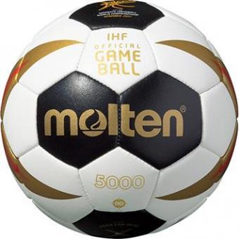 Molten H00X300-W7G Handball Minibällchen schwarz-weiß-rot-gold   00